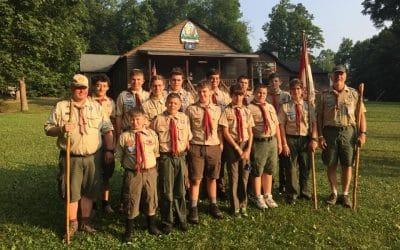 Sten Cempe Leads Local Boy Scout Troop